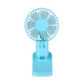 Cute Protable Double Turn Leaves Usb Clip Fan