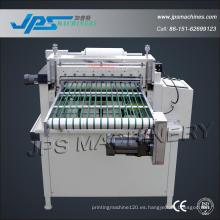 Máquina automática de corte de papel y película con correa de Conyeor
