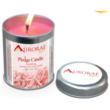 Fruit Scented Soy Gift Candle in Square Tin with Lid