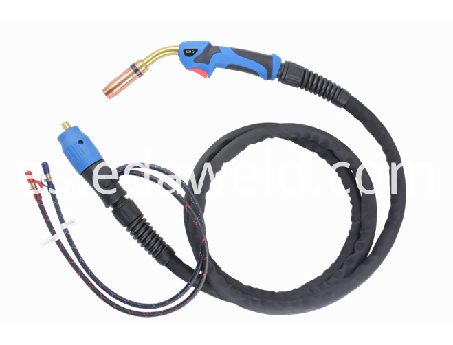 Water Cooling 501d Mag Mig Welding Torch
