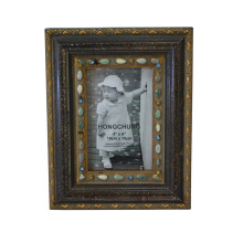 Jeweled Wooden Photo Frame for Home Deco