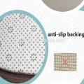 Alfombrilla antideslizante antideslizante de piel de poliéster