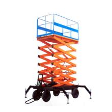 1000kg mobile scissor type lifting platform