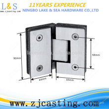 Low Price Customizing stainless steel square glass clamp