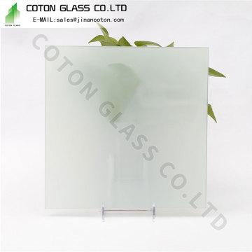 Mampara de ducha de vidrio esmerilado