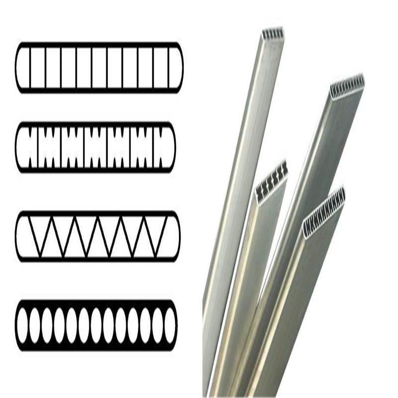 1050 3003 Flat Mirco Channel Aluminum Tube01