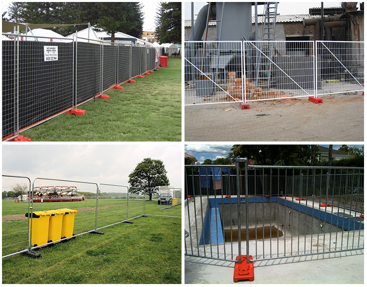 PVC Feet Temporary Fence