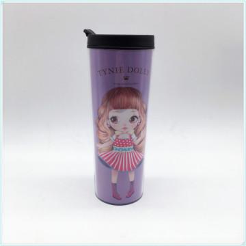 Food Grade 12oz, 16oz, 20oz PP Reusable Coffee Cup, Eco Friendly BPA Free