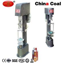machine de capsulage en aluminium de bouteille de vis