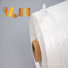 Zero halogen low smoke cable pp filler, fibrillated pp cable filler,twisted PP cable filler