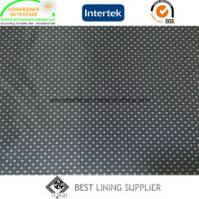Classic Polyester Men′s Suit Print Lining Fabric China Manufacturer