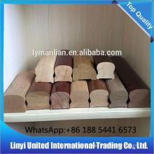 внутренняя отделка деревянными балясинами / перилами высокого качества