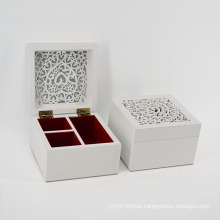 Samll Laser MDF Jewel Case for Gift