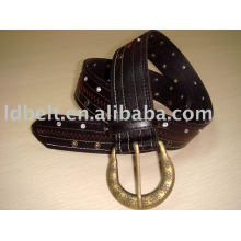 Wholesale PU belt studs PU belt