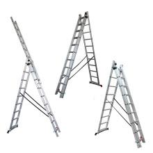 Saudi Arabia hot sales combination aluminium ladder with CE