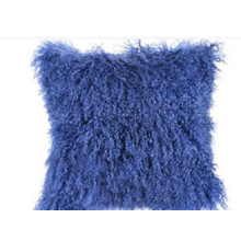 Manta de piel de cordero mongol de alta calidad para el sofá