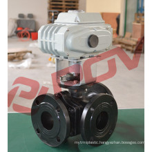 220v flanged electric ball valve 3 inch