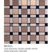 telha de mosaico decorativo autoadesivo firmemente espaçada ACP