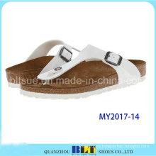 Zapatillas de marca de máquina de corcho EVA de estilo nuevo