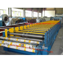 Hydraulic control building material floorboard making machine