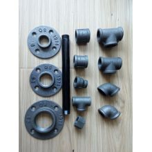 malleable iron fitting floor flange plate
