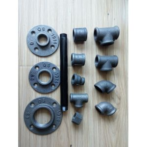 1/2 industrial malleable ironfit floor wall flange plate