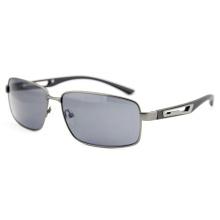 Gafas de sol elegantes del metal de la manera del diseñador de la calidad con FDA (14294)