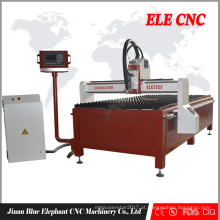 Cortador do plasma das placas de chapa metálica, máquina de corte do plasma do cnc, máquina de corte de aço inoxidável