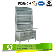 Stainless Steel Desk Dispensing Medicine Shelf