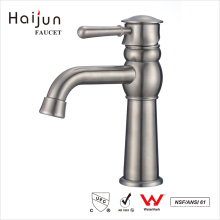 Haijun Overseas Products Single Handle Stainless Steel Water Basin Faucets