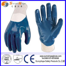 safety working nitrile rubber glove for sale in china