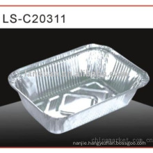 household foil food container