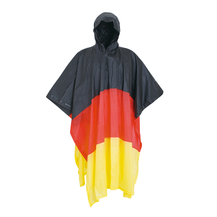 Germany rain poncho