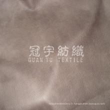 Tissu de Style européen composé de cuir gaufré