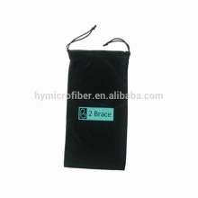 New product for eyeglass soft microfiber cloth pouch, cell phone neck pouch, arm phone pouch