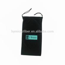 Novo produto para bolsa de pano de microfibra macio de óculos, bolsa de pescoço de telefone celular, bolsa de telefone de braço