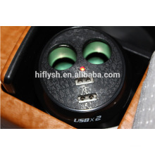 HF-LY0186 (106) isqueiro do carro recarregável IPAD um dois um pontos dois duplo copo USB upgrade IC (certificado do CE)