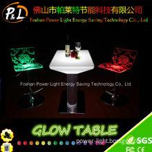 LED Furniture LED Glow Illuminated Table