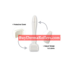 Derma Stamp Microneedle 140 Needle derma roller Anti Ageing Scar and Hair Loss Treatment