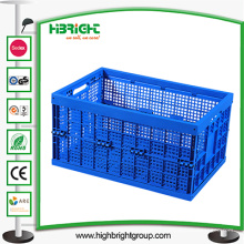 Grande caixa desmontável ventilada para armazenamento
