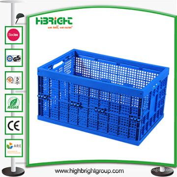 Gran caja plegable ventilada para almacenamiento