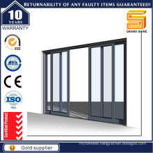 2016 New Product Aluminum Partition Sliding Door