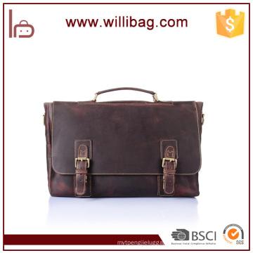 Wholesale Genuine Leather Messenger Bag