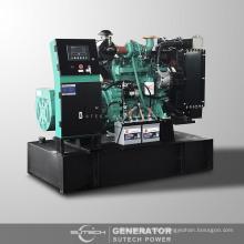 AC three phase soundproof silent diesel generator 70 kva with Cummins engine