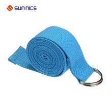 Meilleure vente D Ring Yoga ceinture de coton