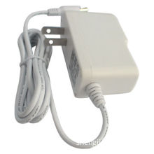 12V 1A White Color Adapter for CCTV, STB CE/GS/SAA/UL, -10 to 50°C Operating Temperature