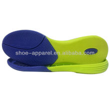 Rubber soles indoor football/soccer shoe sole 2013