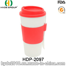 16oz BPA Free Insulated Plastic Coffee Mug (HDP-2097)