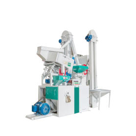 Automatic rice milling processing machine