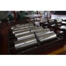 Papel de alumínio usado para rolhas de alimentos para tampas